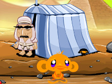 Online hra Monkey Go Happy Ninja Hunt
