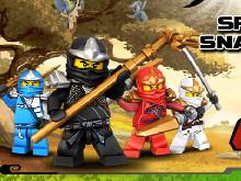 Online hra Lego: Spinjitzu Snakedown