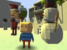 Online Game Kogama: Hello Neighbor Christmas Edition!
