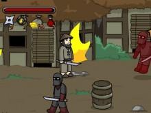 Online hra Ninja Brawl
