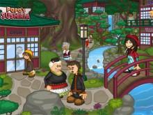 Online Game Papa's Sushiria