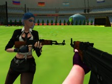 Juego en línea Lady Shooters