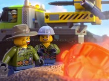 Online Game Lego Volcano Interactive