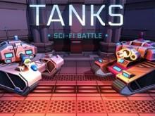 Juego en línea TANKS: Sci-Fi Battle
