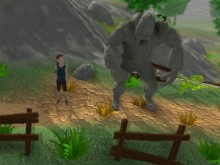 Online Game The Boy and the Golem