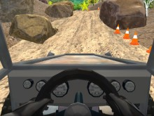 Juego en línea 4x4 Truck Car Hill Race 3D
