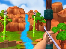 Juego en línea Archery Expert 3D: Small Island