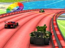 Online hra Burning Wheels Backyard