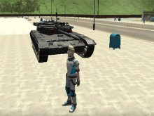 Online hra Cars Thief 2: Tank Edition