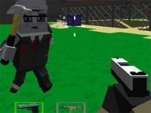 Juego en línea Cube Arena Zombie Warfare