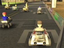 Online hra Logan Kart 8
