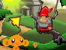 Juego en línea Monkey GO Happy Devils Gold
