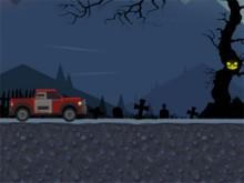 Juego en línea Uphill Halloween Racing
