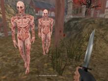Juego en línea Warrior vs Zombies
