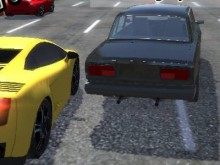 Online hra City Car Racer