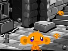 Online hra Monkey GO Happy Four Worlds 2
