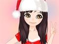 Juego en línea Christmas Make Up