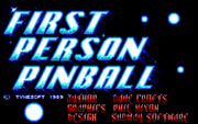 Online hra 1st Person Pinball