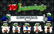 3D Lemmings Winterland