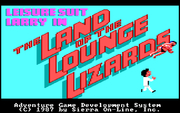 Leisure Suit Larry 1 - Land of the Lounge Lizards