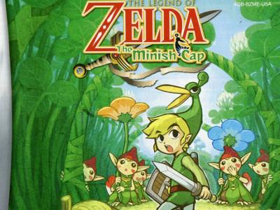 Juego en línea The Legend of Zelda - The Minish Cap