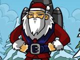 Raketový Santa